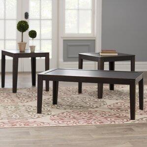 Elizabeth 3 Piece Coffee Table Set