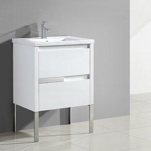Best Everage 24 Single Bathroom Vanity Set ByOrren Ellis