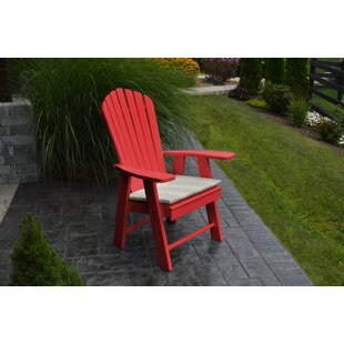 Stalham Upright Plastic Adirondack Chair by Highland Dunes
