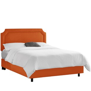 Klein Upholstered Panel Bed by Alcott Hill