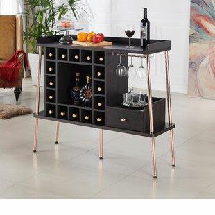 Jefferey 24 Bottle Floor Wine Rack by Brayden Studio