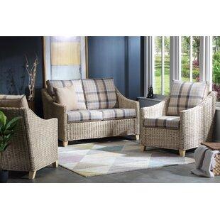 Price Sale Lomond 3 Piece Conservatory Sofa Set