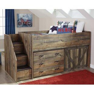 Tyrel Twin Low Loft Bed by Viv + Rae