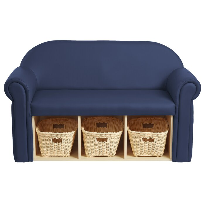 Magnificent Little Lux Youth Kids Sofa With Storage Compartment Beatyapartments Chair Design Images Beatyapartmentscom