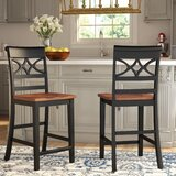 Paulette 24 Bar Stool (Set of 2) by Darby Home Co