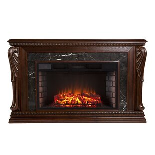 Ornelas Bolder Creek Carved Widescreen Electric Fireplace