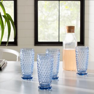 Boston 12 oz. Crystal Highball Glass