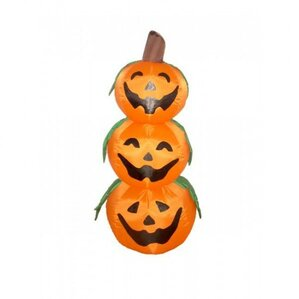 halloween inflatable 3 pumpkins decoration - Halloween Decorations Pumpkin