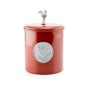 Red Rooster 4 qt. Cookie Jar