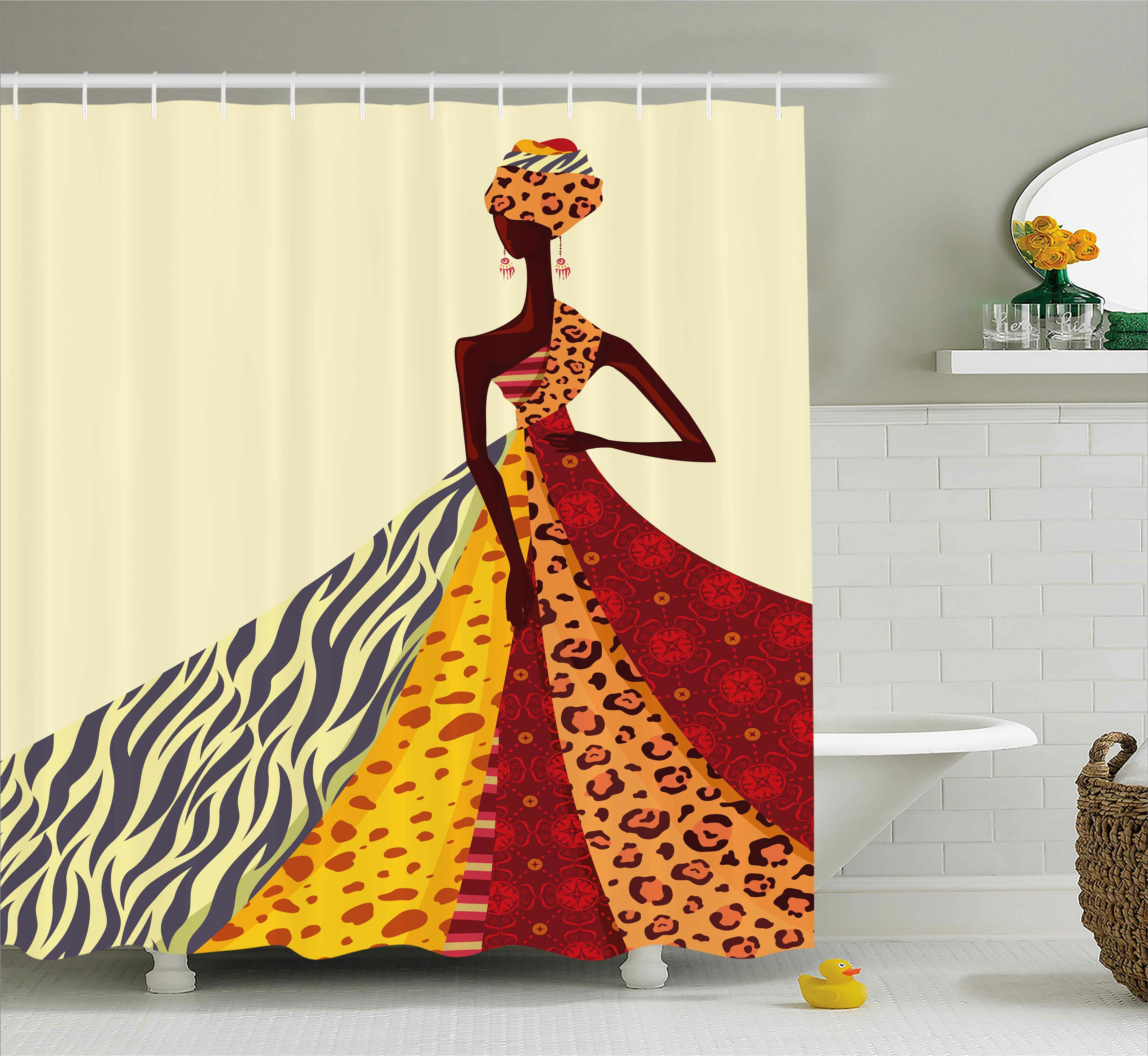 East Urban Home African Girl Decor Shower Curtain Reviews