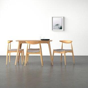 Modern Contemporary Millie 5 Piece Mid Century Dining Set For 2 Allmodern