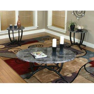 Latitude Run Jacob 3 Piece Coffee Table Set