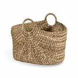 Water Hyacinth Oval Basket