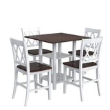 Boluwatife 5 - Piece Counter Height Dining Set by Red Barrel Studio®