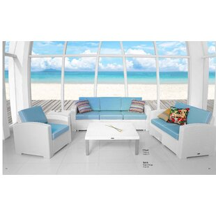 Luken 4 Piece Sectional Set with Cushions