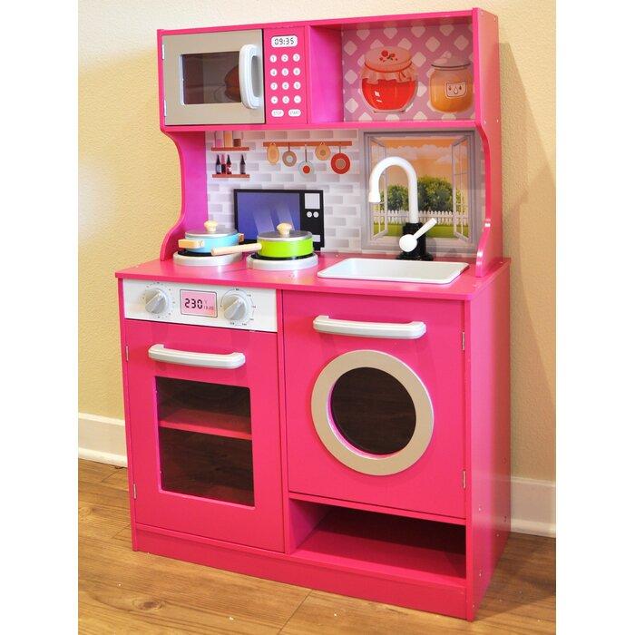 Kids Kitchen Play Set | Kids Play Kitchen Set