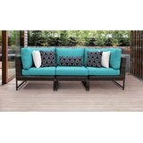 Henson Patio Sectional with Cushions