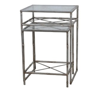 High-End 2 Piece Nesting Tables By Lamps Per Se