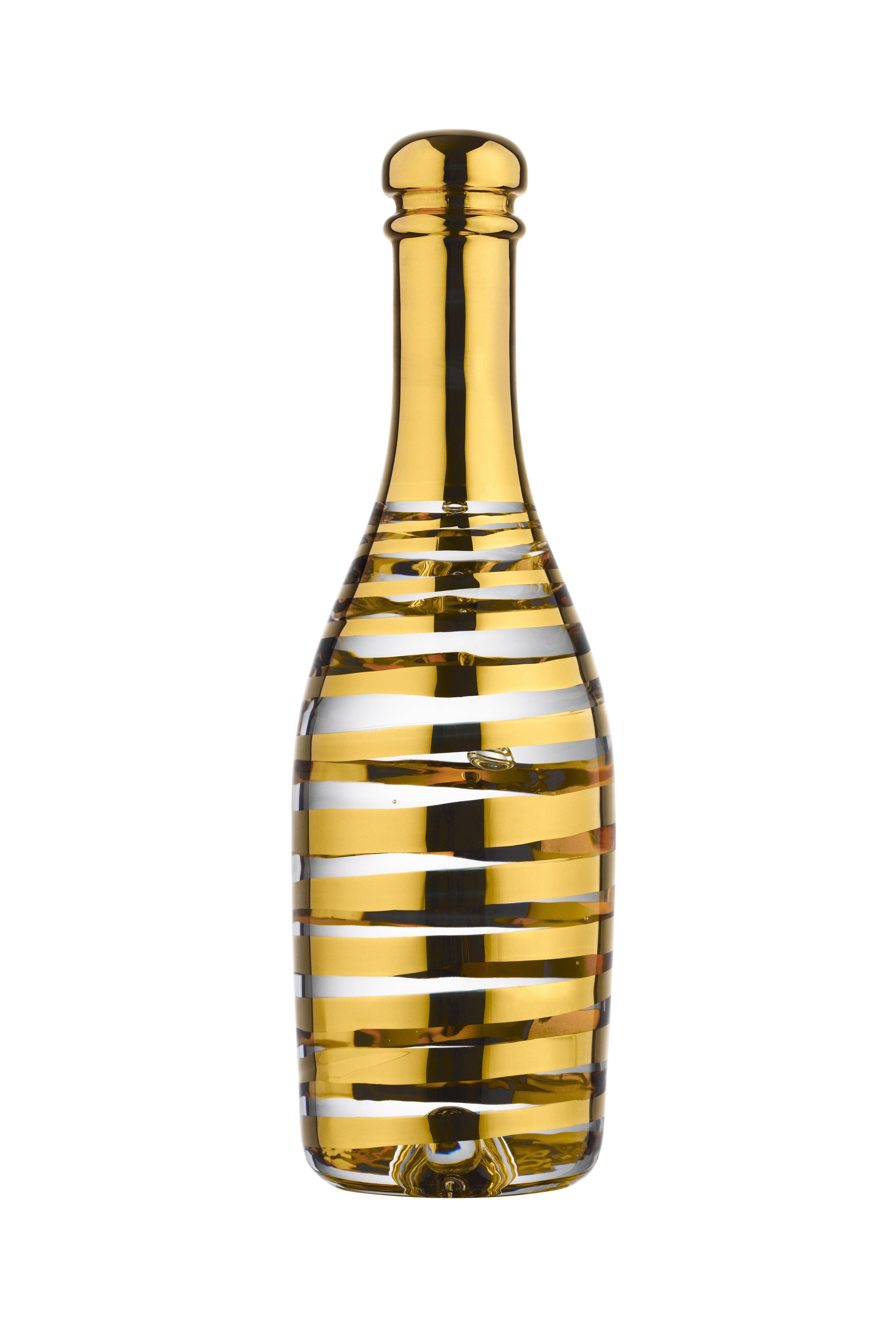 Kosta Boda Celebrate Champagne Decorative Bottle Wayfair