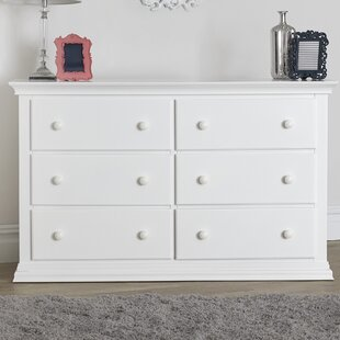 Suite Bebe Brooklyn 6 Drawer Double Dresser