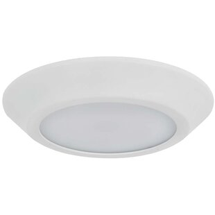Affordable 1-Light Outdoor Flush Mount By Sunset Lighting