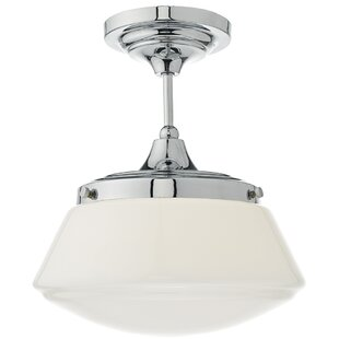 Ceiling flush lights wayfair caden 1 light semi flush mount mozeypictures Images