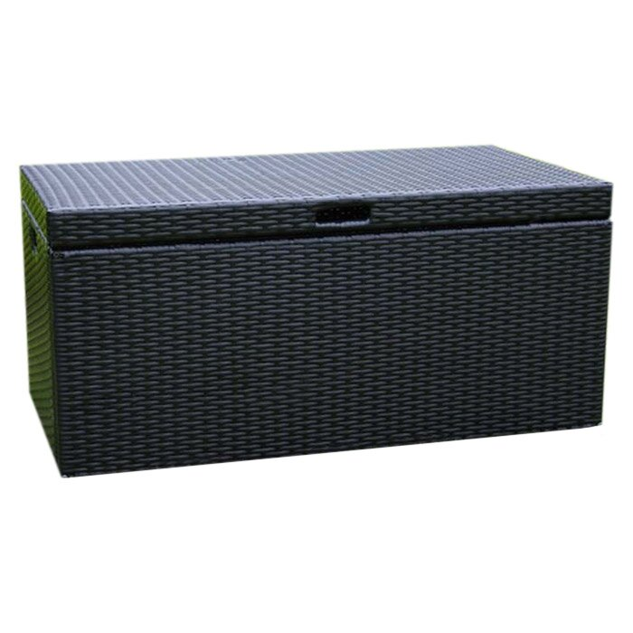 Jeco Inc. 70 Gallon Wicker Deck Box