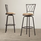 Chouinard Swivel 29 Bar Stool (Set of 2) by Winston Porter