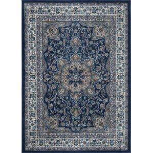 tremont blue area rug
