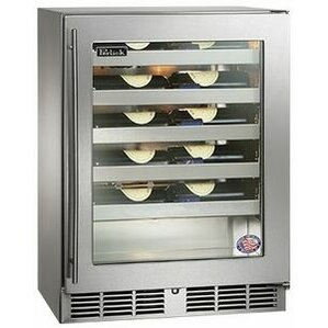 20 Bottle Signature Series Single Zone Built-In Wine Cooler by Perlick