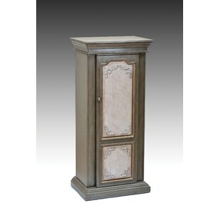 Luevano Free Standing Jewelry Armoire with Mirror by Astoria Grand