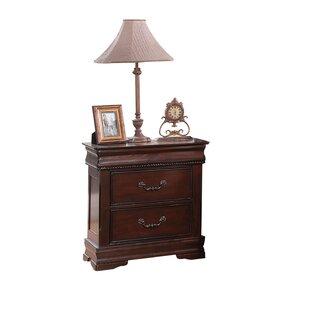 Best Price Weyer 3 Drawer Nightstand by Fleur De Lis Living