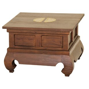 Becky Fine Handcrafted Solid Mahogany Wood End Table by Bloomsbury Market