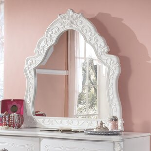 Emma Crowned Top Dresser Mirror