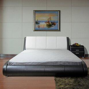 Upholstered Platform Bed by Gr..