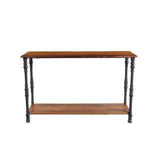 17 Stories Ifra Iron Leg Console Table
