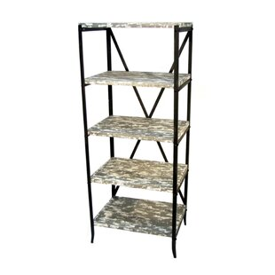 Prairie Home 5 Tier Etagere Bookcase