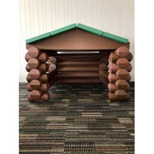 Cabin 5' X 5' Playhouse By Big Logz