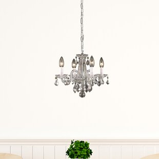 Purchase Azalea 4-Light Candle Style Chandelier By Living District