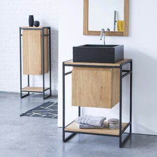 Michal 60cm Free-Standing Under Sink Storage Unit By Tikamoon