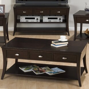 Reviews Mobile Double Header Coffee Table By Jofran