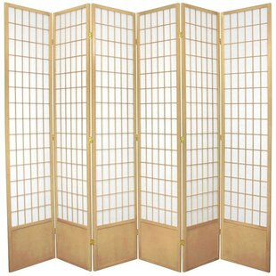 World Menagerie Marissa Shoji 6 Panel Room Divider