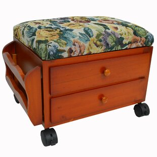 Jersey Storage Ottoman By Marlow Home Co.