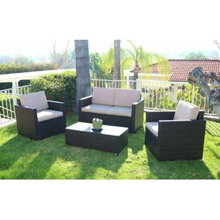 Blazer 4 Piece Sofa Set with Cushions