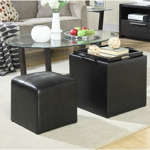 Find for Marla 2 Piece Cube Ottoman Set By Zipcode Design