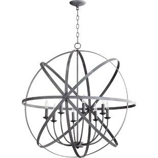 Dian 8-Light Globe Chandel..