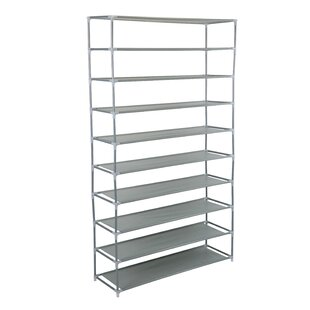 Price comparison Burrier 50 Pair Shoe Rack By Rebrilliant