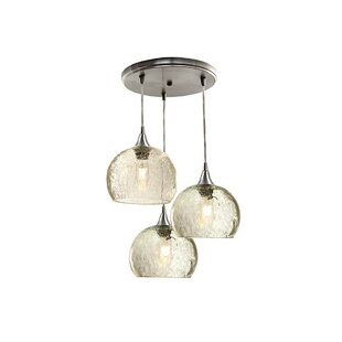 Sandie Cascade 3-Light Cluster Pendant (Set of 3) by Brayden Studio