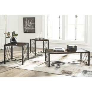 Grimsley 3 Piece Coffee Table Set