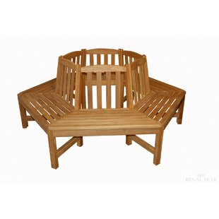 Teak Tree Garden Bench by Regal Teak
